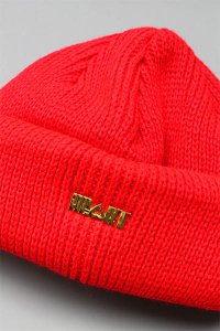 HEART CLOTHING BEANIE【RED】