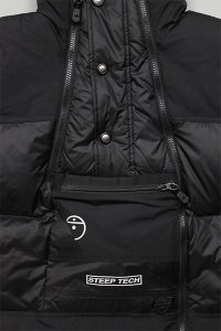 THE NORTH FACE STEEP TECH DOWN JACKET 【BLK】