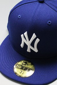 NEWERA 59fifty NEWYORK YANKEES 2000 WORLD SERIES【D.ROYAL/L.BLU】