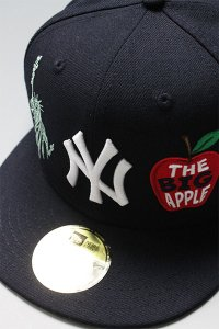 NEWERA 59fifty EMBROIDERY YANKEES 2000 WORLD SERIES【NVY】