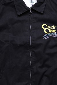 <img class='new_mark_img1' src='https://img.shop-pro.jp/img/new/icons16.gif' style='border:none;display:inline;margin:0px;padding:0px;width:auto;' />POT MEETS POP Cheech&Chong WORK JACKET MOVIE【BLK】