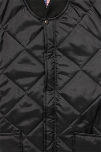 SNAP'N'WEAR QUILTED NYLON JACKET【BLK】
