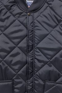 SNAP'N'WEAR QUILTED NYLON JACKET【NVY】