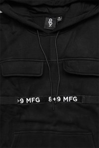 <img class='new_mark_img1' src='https://img.shop-pro.jp/img/new/icons16.gif' style='border:none;display:inline;margin:0px;padding:0px;width:auto;' />8&9 STRAPPED HOODIE【BLK】