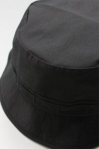 re:new RIPSTOP JUNGLE HAT【BLK】