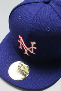 BRONX SOCIAL NEWERA 59fifty NY GIANTS DESERT STORM【D.ROYAL/RED】