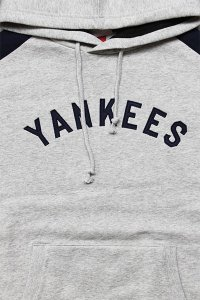 MITCHELL&NESS YANKEES HOODIE【GRY/NVY】