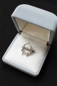 nicedreams CHRONIC PINKY RING SILVER 925【SIL】