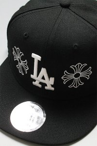 CANT CLOTHING CUSTOM 59FIFTY CHROME DODGERS【BLK】