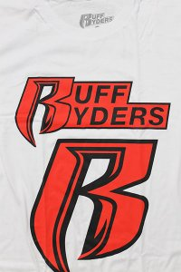 RUFF RYDERS S/S TEE ANTHEM【WHT/RED】