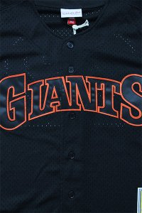 <img class='new_mark_img1' src='https://img.shop-pro.jp/img/new/icons16.gif' style='border:none;display:inline;margin:0px;padding:0px;width:auto;' />MITCHELL&NESS AUTHENTIC BATTING BASEBALL JERSEY GIANTS【BLK/ORG】