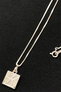 IN-PUT-OUT LOVE&FUCK NECKLACE【SILVER】