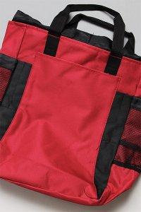 LIBERTY BAGS TOTE&BAGPACK 【RED/BLK】