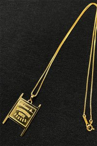 IN-PUT-OUT×YSM WELCOME TO QUEENS BRIDGE NECKLACE【GOLD】