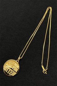 IN-PUT-OUT×YSM NEWYORK LOTTERY NECKLACE【GOLD】
