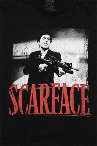 SCARFACE OFFICIAL S/S TEE SHOOTAH【BLK】