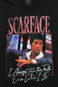 SCARFACE OFFICIAL S/S TEE ALWAYS【BLK】