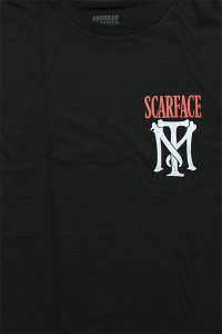 SCARFACE OFFICIAL S/S TEE OTHER NAME【BLK】