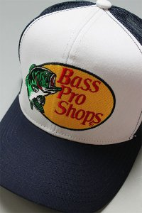 BassProShops LOGO MESH CAP EMBROIDERY【NVY】