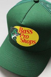 BassProShops LOGO MESH CAP【D.GRN】