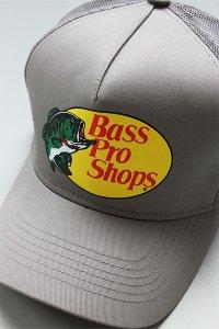 BassProShops LOGO MESH CAP【GRY】