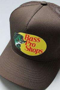 BassProShops LOGO MESH CAP【BRN】