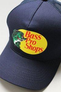 BassProShops LOGO MESH CAP【NVY】