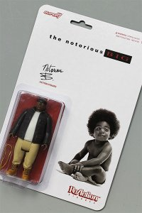 SUPER 7 THE NOTORIOUS B.I.G REACTION FIGURE