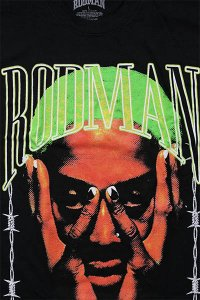 RODMAN BRAND OFFICIAL S/S TEE BARBWIRE【BLK/LIME】