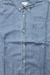 AS Colour L/S SHIRTS BLUE DENIM【L.IND】