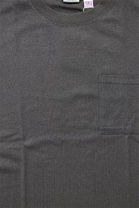 Goodwear SUPER HEAVY WEIGHT POCKET L/S TEE【BRN】