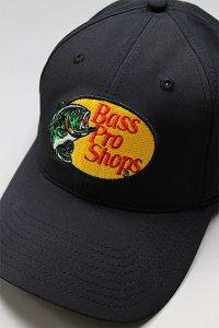 BassProShops DRY LOGO CAP【BLK】
