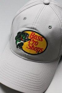 BassProShops DRY LOGO CAP【GRY】
