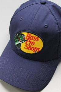 BassProShops DRY LOGO CAP【NVY】
