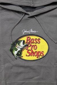BassProShops PULL HOODIE LOGO【C.GRY】