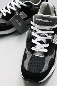 NEW BALANCE 992 MADE IN USA【BLK/GRY】