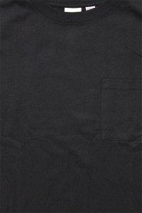 Goodwear SUPER HEAVY WEIGHT POCKET BIG L/S TEE【BLK】