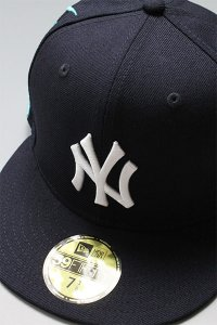 NEWERA 59fifty NEWYORK YANKEES EMBROIDERY【NVY/WHT】