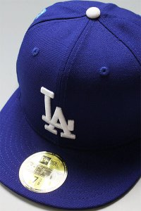 NEWERA 59fifty NEWYORK DODGERS EMBROIDERY【D.ROYAL/WHT】