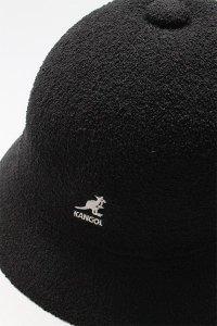 KANGOL BERMUDA BALL HAT【BLK】
