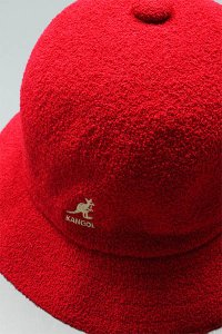 KANGOL BERMUDA BALL HAT【RED】