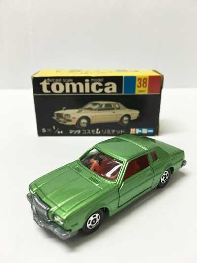 トミカ 38 マツダ コスモLリミテッド 黒箱 TMC00528