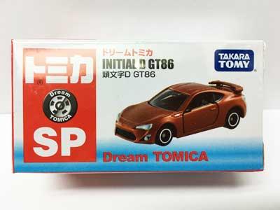 タカラトミー ドリームトミカ 頭文字D GT86 TMC00360