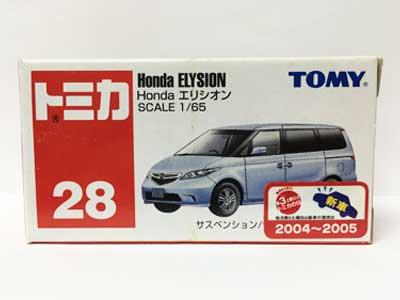 トミカ NO.28 Honda エリシオン(中国製)
