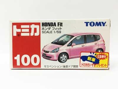 トミカ NO.100 ホンダ フィット(中国製)