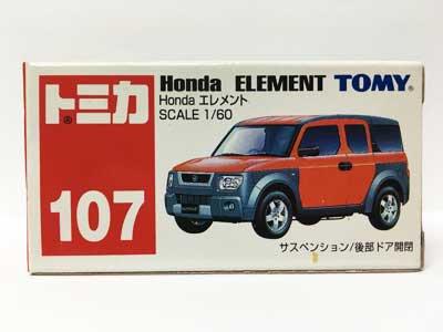 トミカ NO.107 Honda エレメント(中国製)