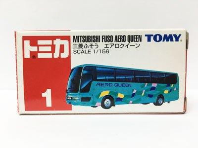 トミカ NO.1 三菱ふそう エアロクィーン(中国製)