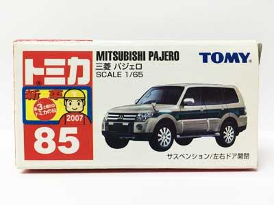 トミカ 85 三菱 パジェロ(中国製)(新車シール付き) TMC00457