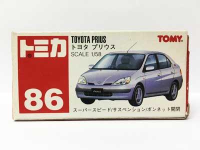 トミカ NO.86 トヨタ プリウス(中国製)