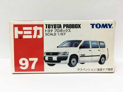 トミカ NO.97 トヨタ プロボックス(中国製)